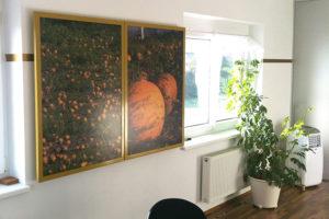 byGloria ARTCHART® wall double